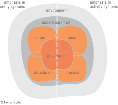 systems theory: activity versus entity system emphasis