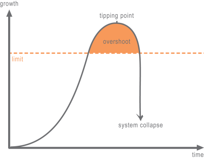 systems theory: limit overshoot